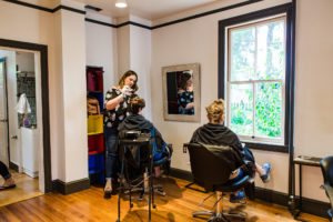 stylist in frederick salon
