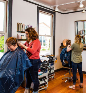 hair stylists and clients